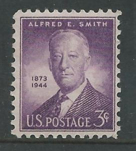 USA # 937  Alfred E. Smith Memorial (1) Mint NH