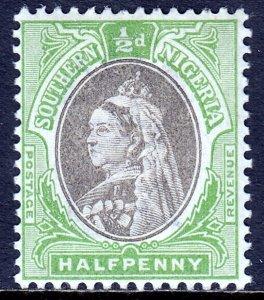 Southern Nigeria - Scott #1a - MH - SCV $2.50