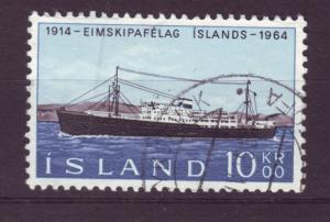 J19207 Jlstamps 1964 iceland set of 1 used #359 ship