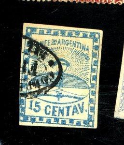 Argentina #3 Used FVF Cat$250