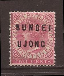 Malaya-Sungei Ujong scott #15 m/h stock #17478