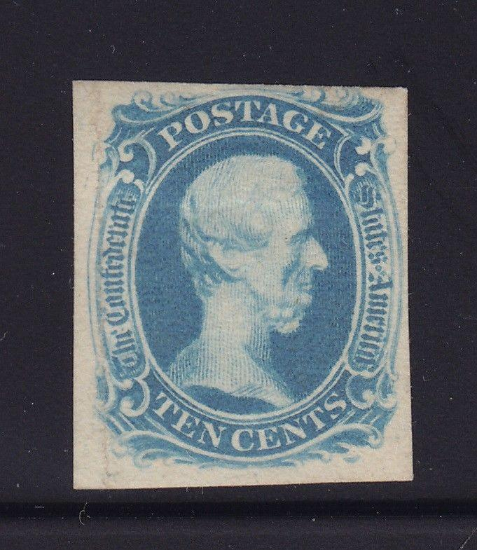 CSA 9 VF unused ( mint no gum ) with nice color cv $ 600 ! see pic !