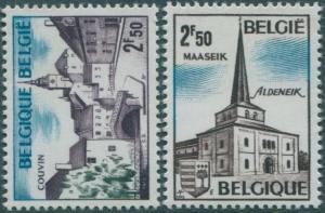 Belgium 1972 SG2275-2276 Tourist Publicity set MNH