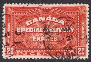 Canada Scott E5 VF used.