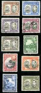 Grenada Stamps # 132-41 Used XF