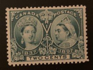 Canada #52 XF Mint LH Jubilee