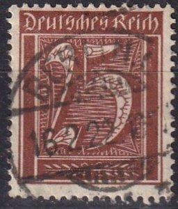Germany #164  F-VF  Used CV $3.75  (V4577)