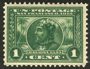 US  #397 SCV $180.00 XF-SUPERB mint never hinged, wonderfully fresh color,  S...