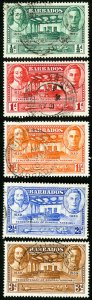 Bahrain Stamps # 202-6 Used VF