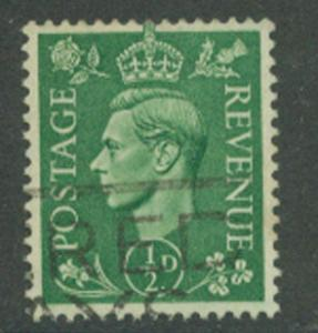 Great Britain SG 485 wmk Inverted   Fine Used