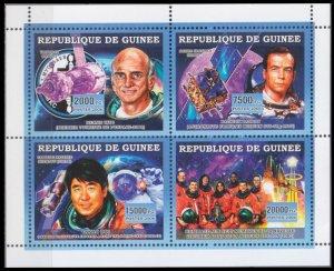 2006 Guinea 4521-24KL Astronauts / Shuttle Columbia 12,00 €