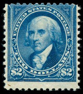 momen: US Stamps #262 Mint OG F/VF