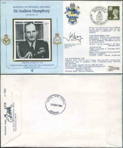 CDM18a RAF COMMANDER Sir Humphrey Gp Capt Day and Plt Off Postlethwaite (C)
