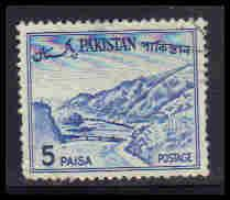 Pakistan Used Very Fine ZA5748