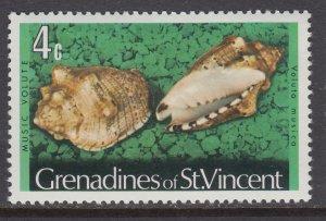 St Vincent Grenadines 36 Seashell MNH VF