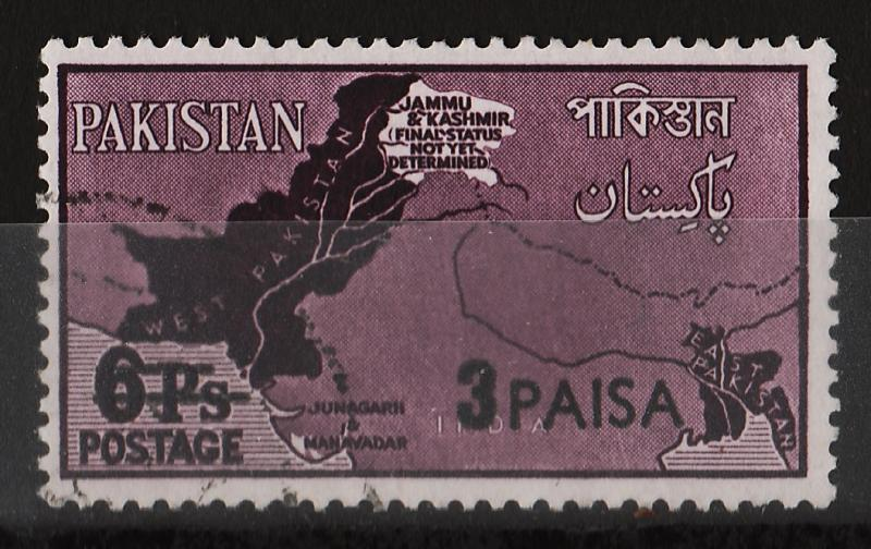 Pakistan 1961 Surch. on 'Border Disputes 1960' (1/2) USED