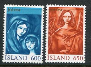 Iceland #595-6 MNH (Box1)
