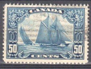 Canada #158 USED VF BLUENOSE