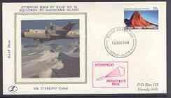 Australian Antarctic Territory 1983 Hercules silk cover w...