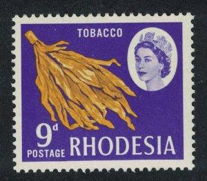 Rhodesia Tobacco 9d Litho Printing perf 14? Large Portrait SG#402