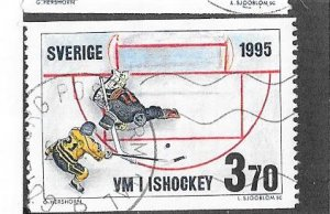 Sweden #2114 Ice Hockey (U) CV $1.25