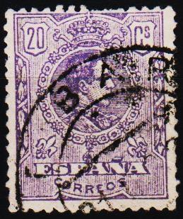 Spain.1909 20c S.G.335 Fine Used