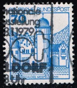 Germany #1238 Mespelbrunn Castle; Used (0.25)