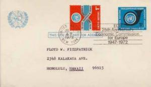 United Nations, Government Postal Card, Event