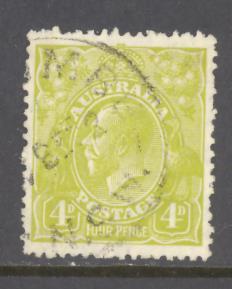 Australia Sc # 73 used (BC)