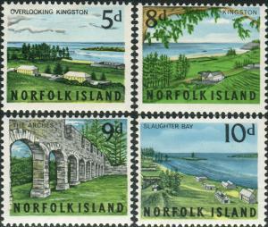 Norfolk Island 1964 SG51-54 Scenes set MNH