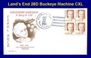 Land's End 1848 28D Peal Buck West Virginia Buckeye, WV HC Amerasian Rhapsody