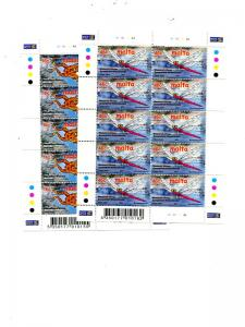 Malta 2001 Europa sheets Mint VF NH - Lakeshore Philatelics