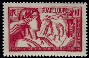 Guadeloupe Sc#152 Mint VF...French Colonies are hot!