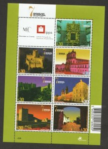 2007  PORTUGAL -  SG:3468/88 - NEW 7 WONDERS OF WORLD - UNMOUNTED MINT - 3 SHEET