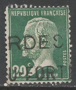 FRANCE 187 VFU Z4854-1