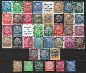 COLLECTION LOT OF 39 GERMANY 1932+ STAMPS CV + $59