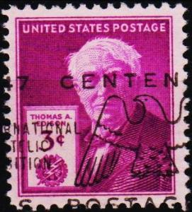 U.S.A. 1947 3c S.G.942 Fine Used