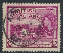 British Guiana SG 344 Used  (Sc# 266 see details)