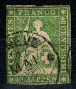 Switzerland #29 Used CV $110.00  (X9749)