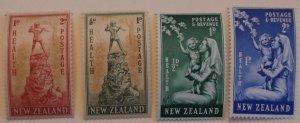 New Zealand  B26-7, B34-5 MNH