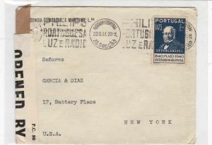 portugal 1941 stamps cover ref 19350