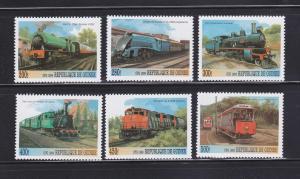 Guinea NSL MNH Trains (C)