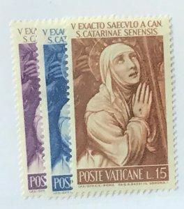 Vatican City #335-337 MNH CV$1.00
