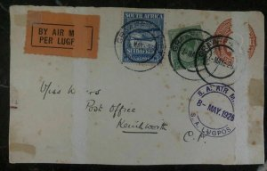 1925 Graaff-Reinet South Africa First Flight Front Cover FFC To Kenilworth