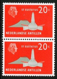 NETHERLANDS ANTILLES - SC #248 - MINT NH  PAIR - 1958 - NETHANT006