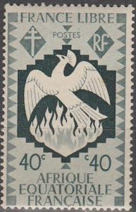 French Eq Africa #146  MNH F-VF   (SU4809)
