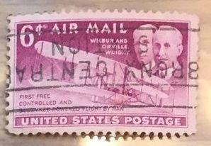 US #C45 Used F/VF - Airmail Wilbur and Orville Wright