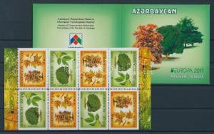 Azerbaijan stamp MNH Forest Trees Nature Plants WS87024