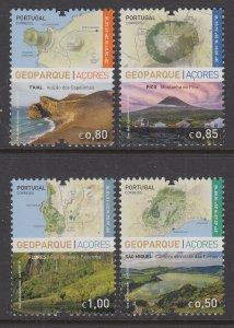 Azores 591-594 MNH VF