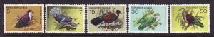 Papua New Guinea-Sc#465-9-unused NH set-1977-Protected Birds